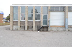 FOR LEASE IN SCARBOROUGH- INDUSTRIAL WAREHOUSE SPACE
