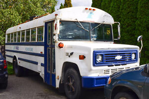 Camperized Vintage Bus - Propane - Runs and Drives Great