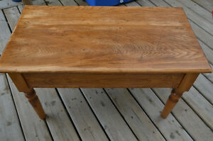 Late 1800s solid Pine coffee table