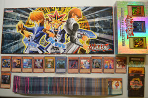 320+ Yu-Gi-Oh cards + Exclusive box, Game Board & More!