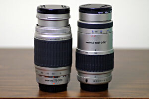 Pentax FA 100-300mm or/ou Pentax FAJ 75-300mm (like 55 -300mm)