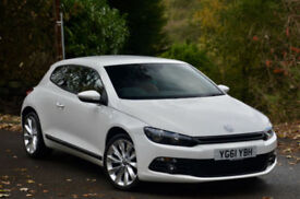 Volkswagen Scirocco 2.0 TSI ( 210ps ) DSG 2011MY GT CANDY WHITE LOW MILEAGE!
