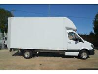 2016 MERCEDES-BENZ Sprinter 313 2.1 CDI Luton LWB With Extended Tail Lift -Air c