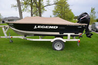 FS: Excellent condition 2009 Legend Prosport Side Console Boat
