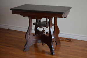 Beautiful Antique Solid Wood Table