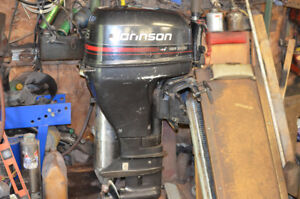 1996 15 hp four stroke johnson outboard