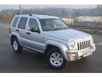 Jeep Cherokee 2.8 CRD Sport Auto (silver) 2003