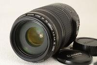 Canon 70-300mm IS Stabilizer vraiment comme neuve avec filtre.