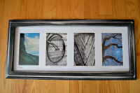 Valentines day, unique framed art! Name and Word Pictures
