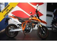 2018 67 SINNIS APACHE SMR 125***ONLY 558 MILES***