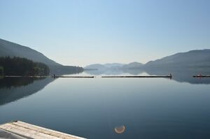 Lake Cowichan waterfront