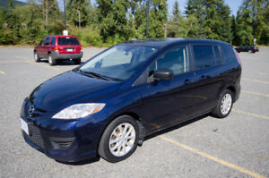 2010 Mazda Mazda5 GS Minivan, Van - low km - good condition