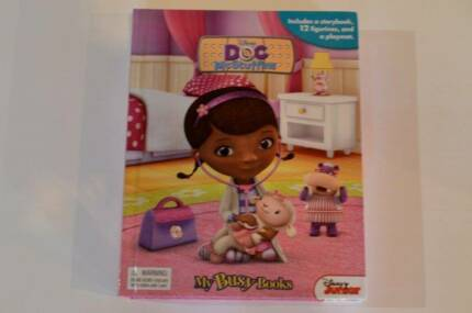 Doc Mcstuffins story book and game