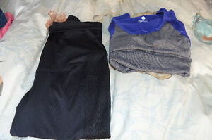 Maternity Workout Capris and Tank