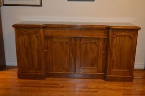 Gorgeous Solid Cherry Buffet Sideboard-Tons of Storage!
