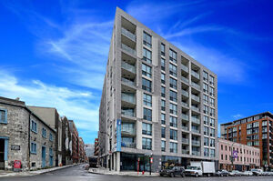 Beautiful sun filled apartment between Old Port and Griffintown