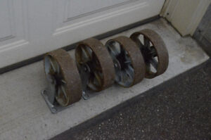8 inch casters