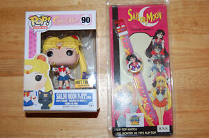 Sailor Moon Funko Pop and Vintage Collectible Watch