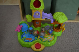 Fisher Price tree house and ball toy
