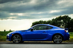 Subaru BRZ 2013 bleu - 6 vitesses - Impeccable!