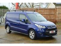 2017 FORD Transit Connect 240 1.5 TDCI Euro 6 L2 H1 Limited Panel Van 120ps DIES