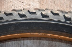 """Used 24"""" mountain bike tires with tubes."""