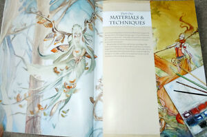 Dreamscapes: Magical Angel, Faery & Mermaid Worlds In Watercolor Kitchener / Waterloo Kitchener Area image 3