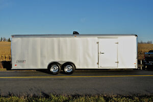 Amazing Condition 26' Haulmark Car Trailer With Many Upgrades