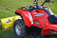 Yamaha Grizzly 700 w Snow Plow (optional)