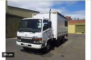Mitsubishi fighter FK6. 8 Pallet with tailgate lifter. Hindmarsh Charles Sturt Area Preview