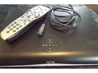 Sky Plus HD Satellite Box And Remote Control 1TB BARGAIN.