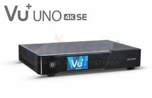 VU + Uno 4K SE 1x DVB-S2 FBC Twin Tuner PVR ready Linux Receiver UHD 2160p