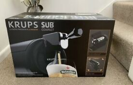 Beerwulf 'The SUB Compact Black' Krups Beer Dispenser ✅ BRAND NEW!!