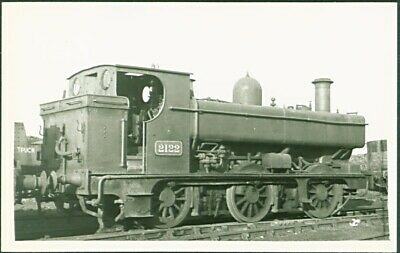 GWR 2021 Class 0-6-0PT No. 2122. Postcard Sized Photograph
