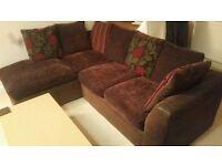 Left hand corner sofa for sale £150