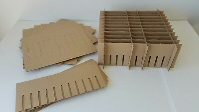Corrugated Multi-use Cardboard Partitions Dividers 5 Pack Boxes Not Included