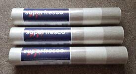 Superfresco Ariadne (Beige/Champagne) x3 Rolls.
