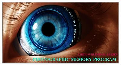 Develop a Photographic Memory Ultrasonic Subliminal Hypnosis Audio CD DVD