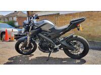 Black/Grey Yamaha MT 125 - 5K LOW MILEAGE - CBT Learner Legal