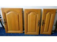 Oak kitchen doors and draws