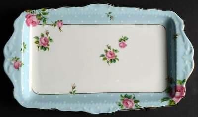 Rose Sandwich Tray (Royal Albert POLKA ROSE Sandwich Tray 10395841)