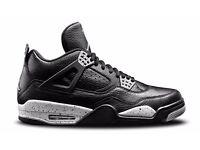 Nike Air Jordan 4 Retro LS 'Oreo' Size UK 6 10 11 Brand New