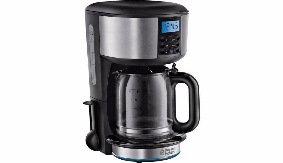 New Boxed Russell Hobbs Buckingham Stainless Steel Coffee Maker RRP £50 + 1kg FREE COFFEE!