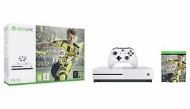 NEW Xbox One S 1TB FIFA 17 Bundle White - White Xbox One Console Retail Boxed 12 Months Warranty