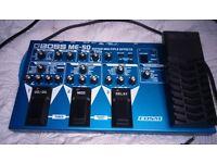 BOSS ME-50 Multiple guitar effects rack