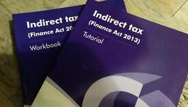 Indirect tax (finance Act 2013)workbook and tutorial by Jo Osborne
