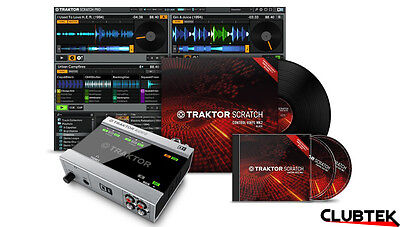 Native Instruments Traktor Scratch A6 DVS Digital Vinyl System Traktor DJ  UK