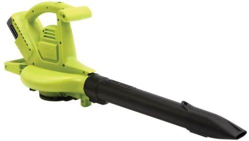 Sun Joe IONBV Joe 40v 4.0 Ah Cordless Blower/Vacuum/Mulcher,