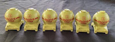 Vintage LIMA HO Model Train SLOTTS Silo Loads ~ Set Of 6 ~ Lionel Hornby Tanks