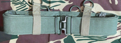 Rhodesian P69 Web Equipment Belt - Regular Size, Adjusts up to 42 inches